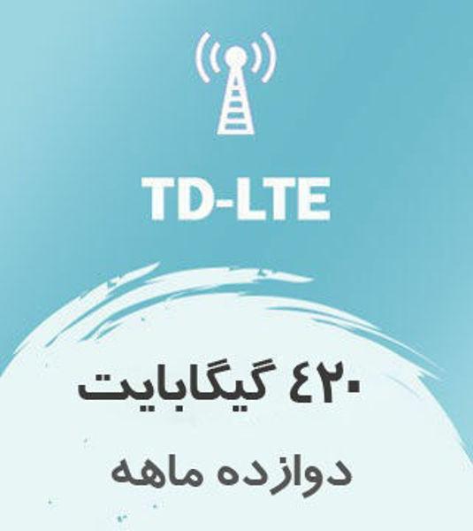 تصویر از اینترنت ثابت TD-LTE، یکساله 420 گیگ با سرعت ۱ تا ۴۰ مگ